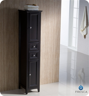 Fresca Oxford  Espresso Traditional Bathroom Vanity with delivery to UK