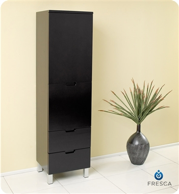 Fresca Cortese Espresso Modern Bathroom Vanity w/ Mirror with delivery to UK