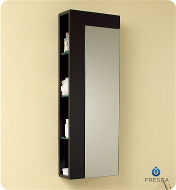 Fresca Bellezza Espresso Modern Double Sink Bathroom Vanity with delivery to UK