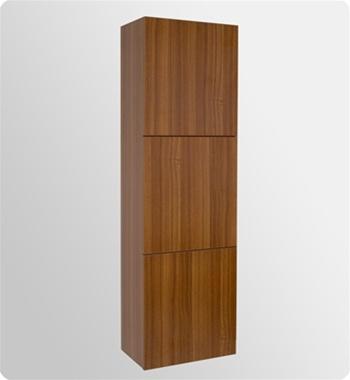 Fresca Nano Teak Modern Bathroom Vanity w/ Medicine Cabinet with delivery to UK