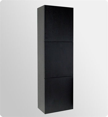 Fresca Livello  Black Modern Bathroom Vanity w/ Medicine Cabinet with delivery to UK