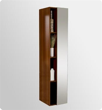 Fresca Livello  Teak Modern Bathroom Vanity w/ Medicine Cabinet with delivery to UK