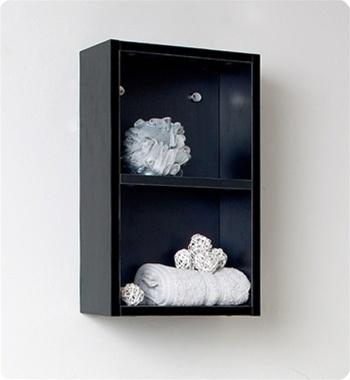 Fresca Vista Black Modern Bathroom Vanity w/ Medicine Cabinet with delivery to UK