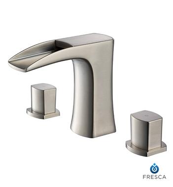Fresca Vista Walnut Modern Bathroom Vanity w/ Medicine Cabinet with delivery to UK