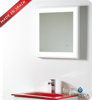 Fresca Platinum Wave  Glossy White Modern Bathroom Vanity with delivery to UK