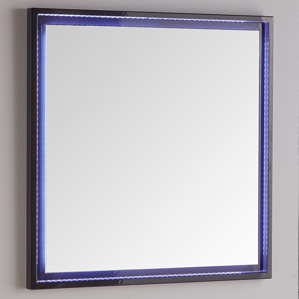 Fresca Platinum Due  Glossy Cobalt Bathroom Vanity with delivery to UK