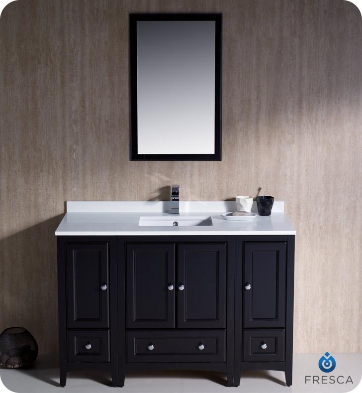 Fresca Oxford  Espresso Traditional Bathroom Vanity with delivery to UK