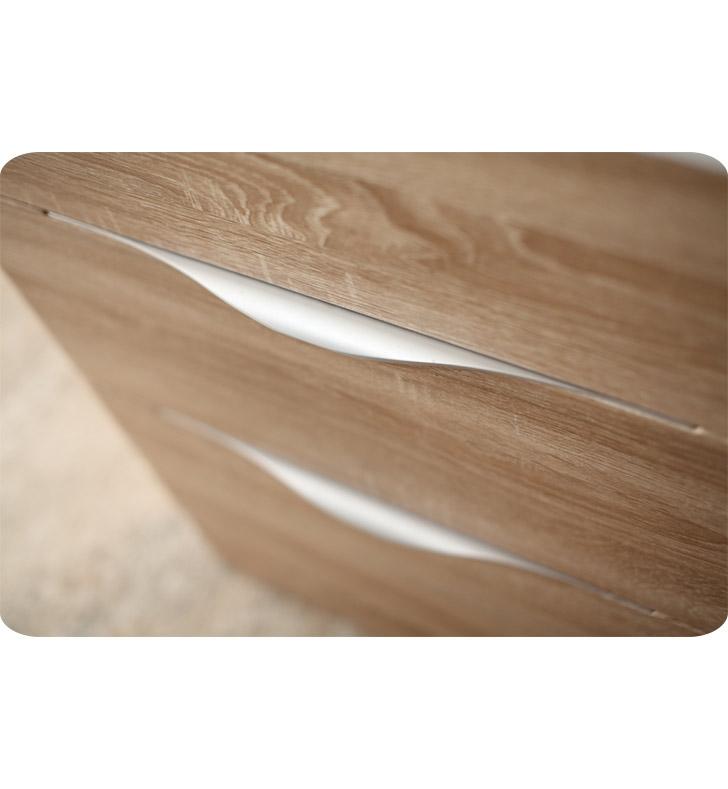 Fresca Milano  White Oak Modern Bathroom Vanity w/ Medicine Cabinet with delivery to UK
